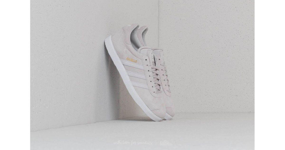 new concept 8608f e97ca Lyst - adidas Originals Adidas Gazelle W Grey One Ftw White Grey Two in  Gray