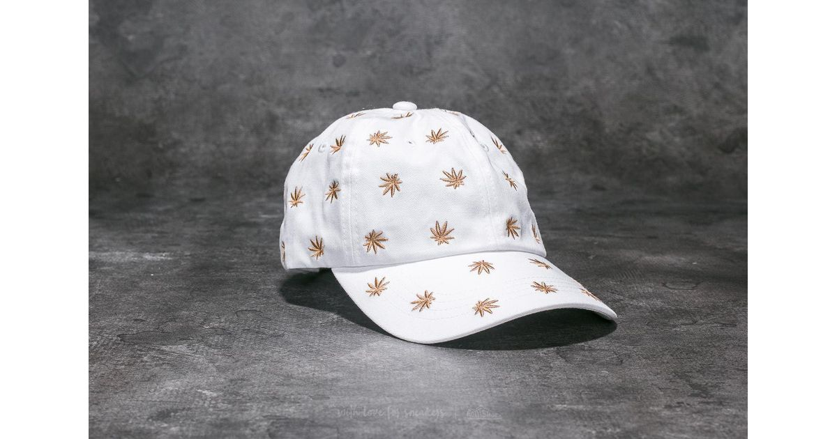 4b888fc9090 Lyst - Huf Apparel Cap Plp Emb Dad Hat White in White for Men