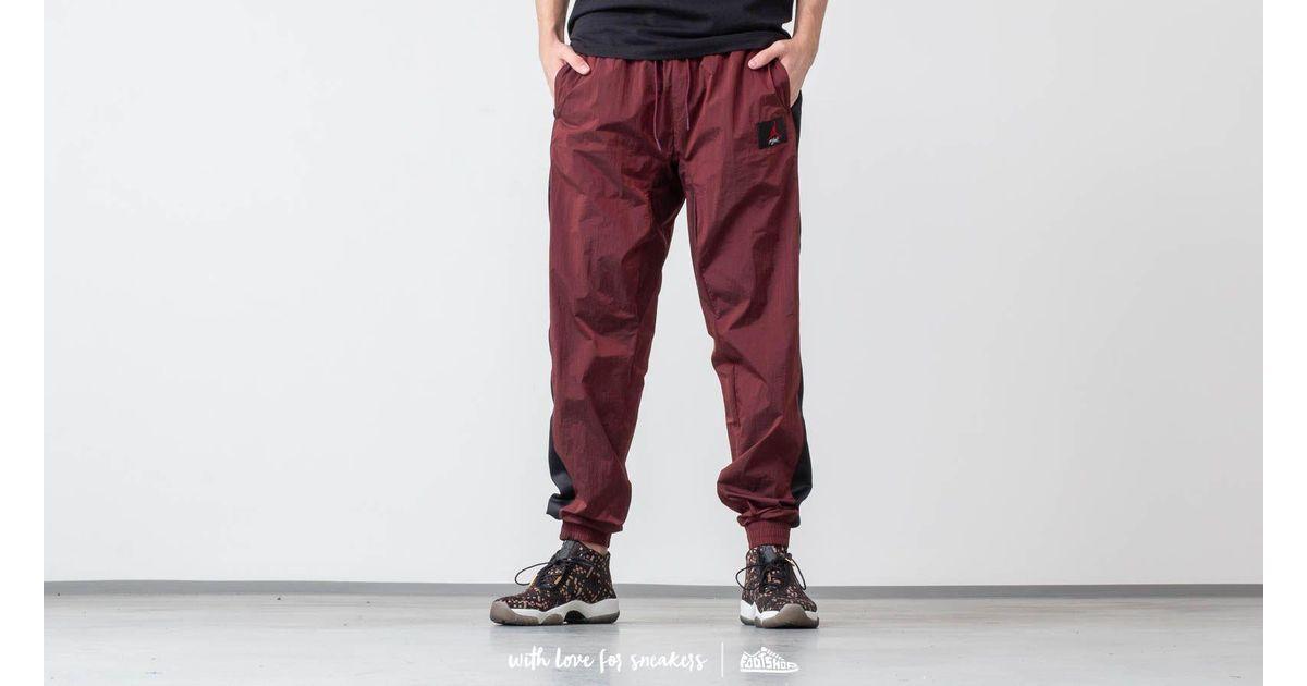 wholesale dealer 0b9c3 b51f5 Nike Flight Warm-up Pants Gym Red  Black in Red for Men - Lyst