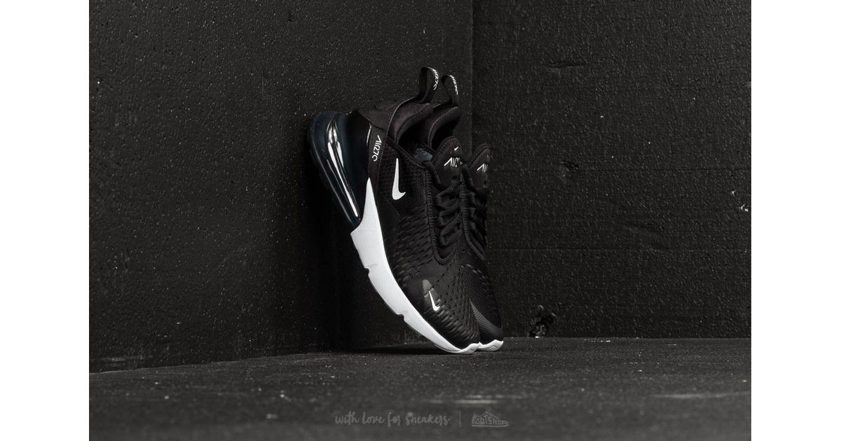 a98a692d6f Nike W Air Max 270 Black  Anthracite-white in Black - Lyst