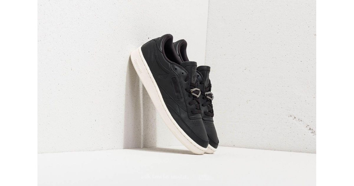 cb5e1f9688d3f Lyst - Reebok Reebok Club C 85 Hardware Black  Chalk in Black