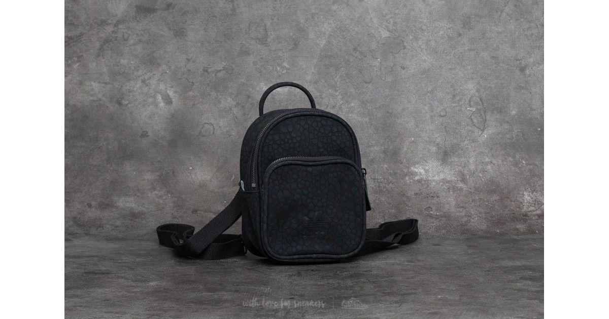 Lyst - adidas Originals Adidas Ac Classic Mini Backpack Black in Black a4debf5f1b76
