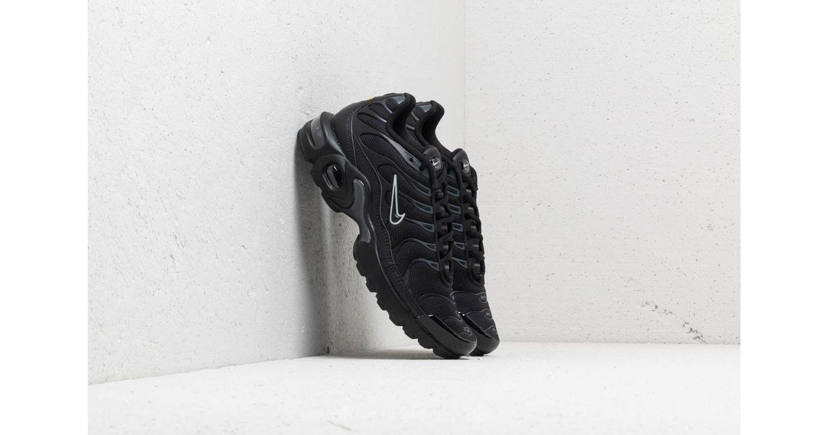 Lyst - Nike Air Max Plus (gs) Black  Black-pure Platinum in Black 5c217d13a9