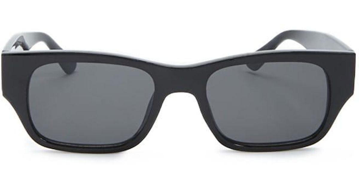 2ba93184dd Lyst - Forever 21 Flat-lens Rectangle Sunglasses in Black
