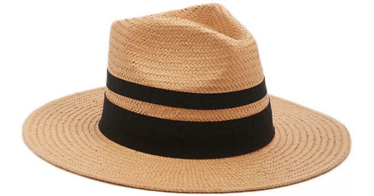 29fc8e4b67b Lyst - Forever 21 Panama Straw Hat in Black