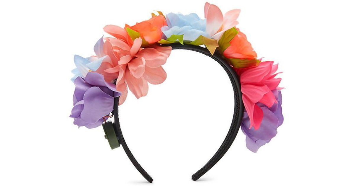Lyst - Forever 21 Led Floral Headband in Pink 1965ff560f1