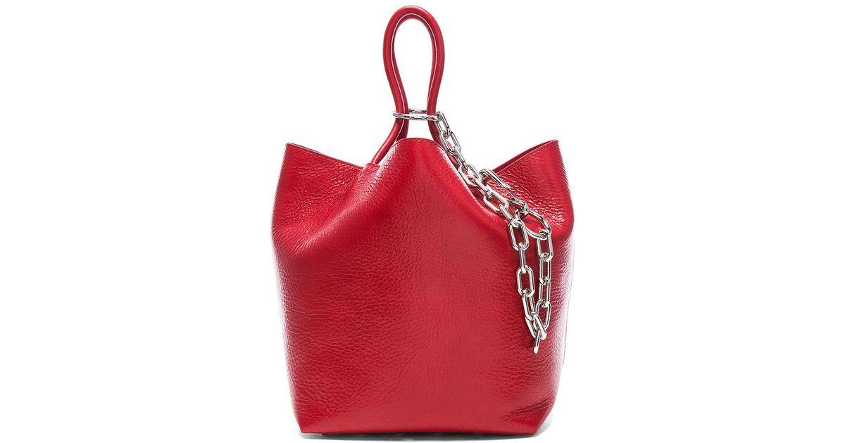 Roxy Large Tote Bag in Lipstick Calfskin Alexander Wang fnD8o