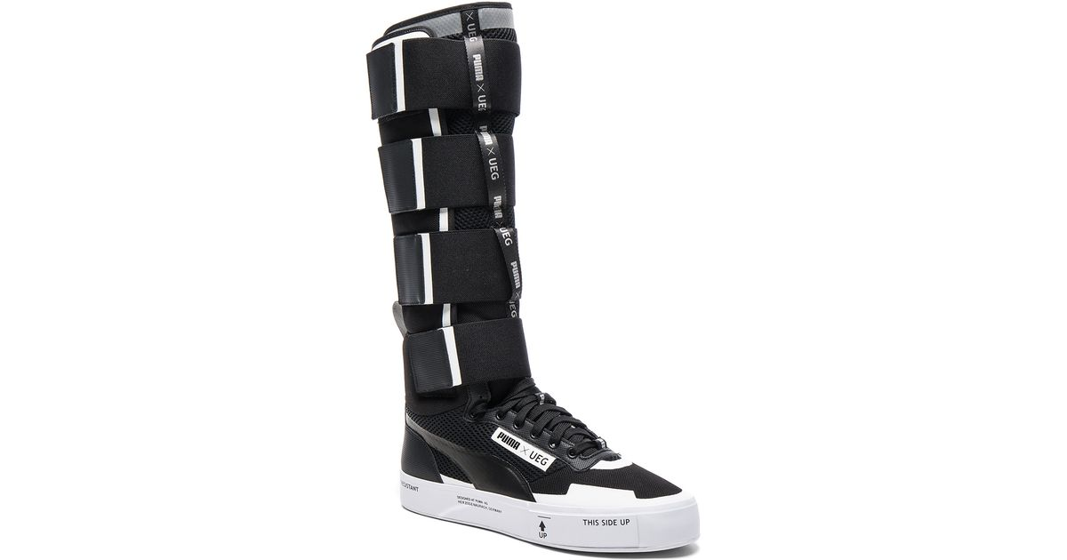 62048a052f6837 Lyst - Puma Select X Ueg Court Play Boots in Black