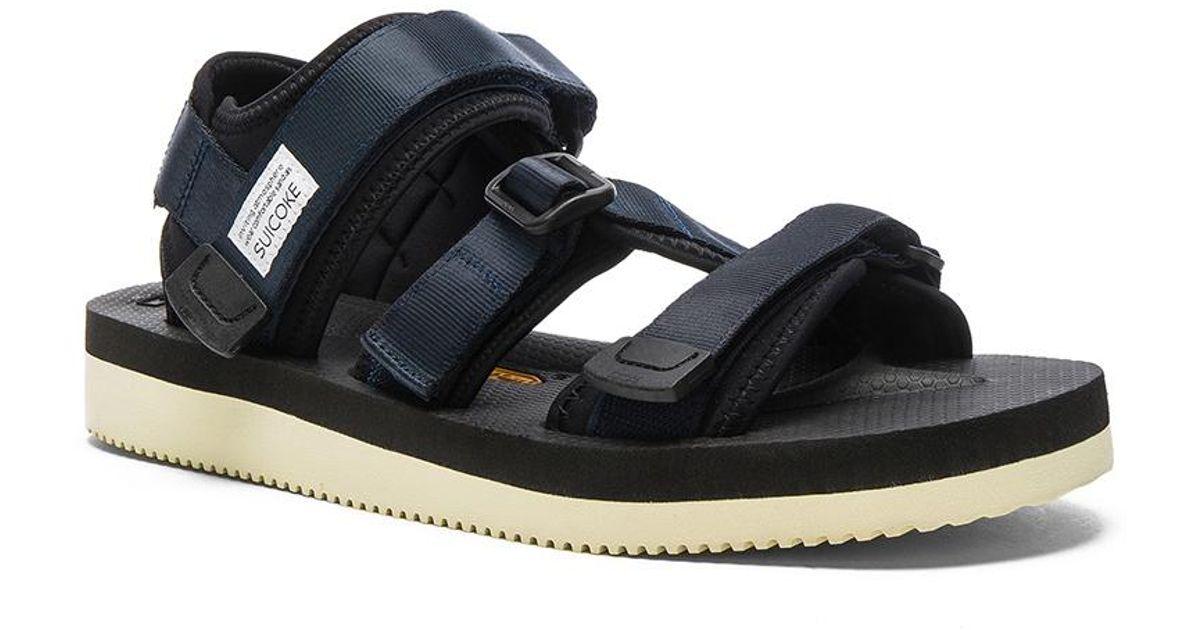 845dd78f6166 Lyst - Suicoke Kisee V Sandals in Blue for Men