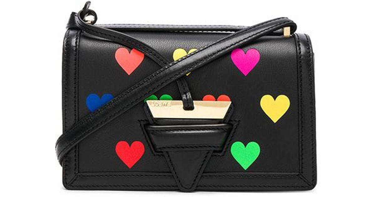 Black Small Barcelona Hearts Bag Loewe YDO85z