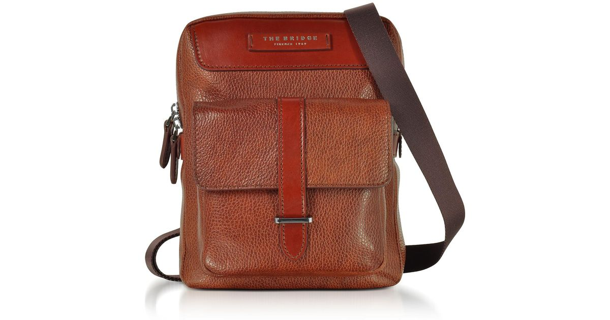 The Bridge Travel Bags, Leather Men's Crossbody Bag