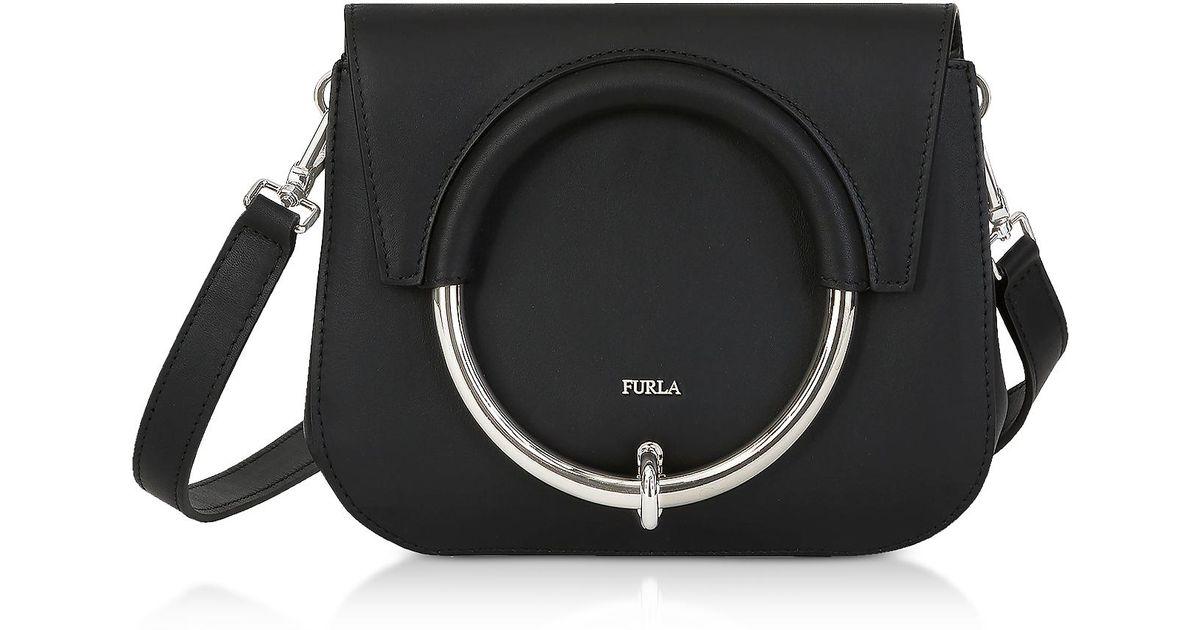 9e984472 Furla Margherita Mini Crossbody Bag in Black - Lyst