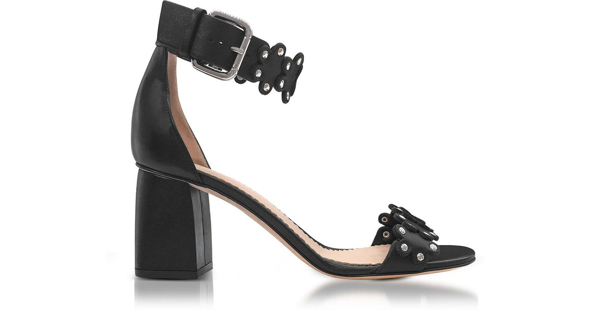 7afbedb7d12 Lyst - RED Valentino Heeled Sandals Women in Black