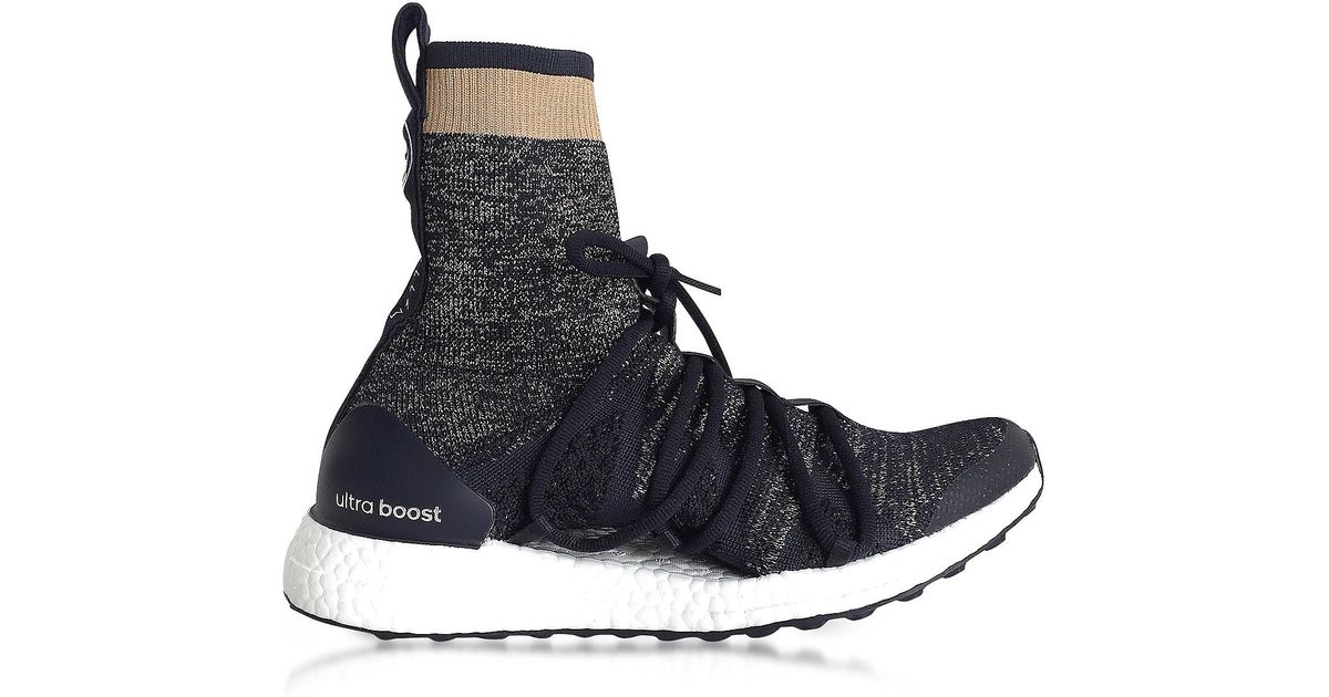 b73cb6c20f538 Lyst - adidas By Stella McCartney Legend Blue Ultraboost X Trainers in  Black for Men