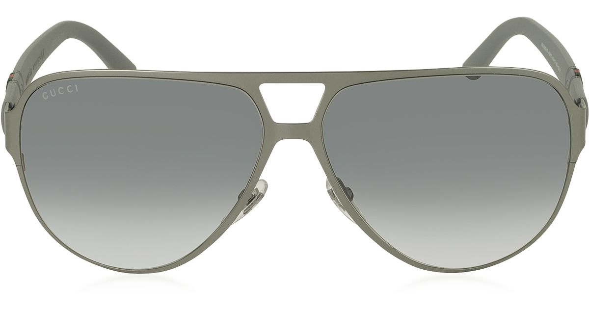 8e1ba4f50f Gucci Mens Aviator Sunglasses Gg 2252 S - Kidds Place