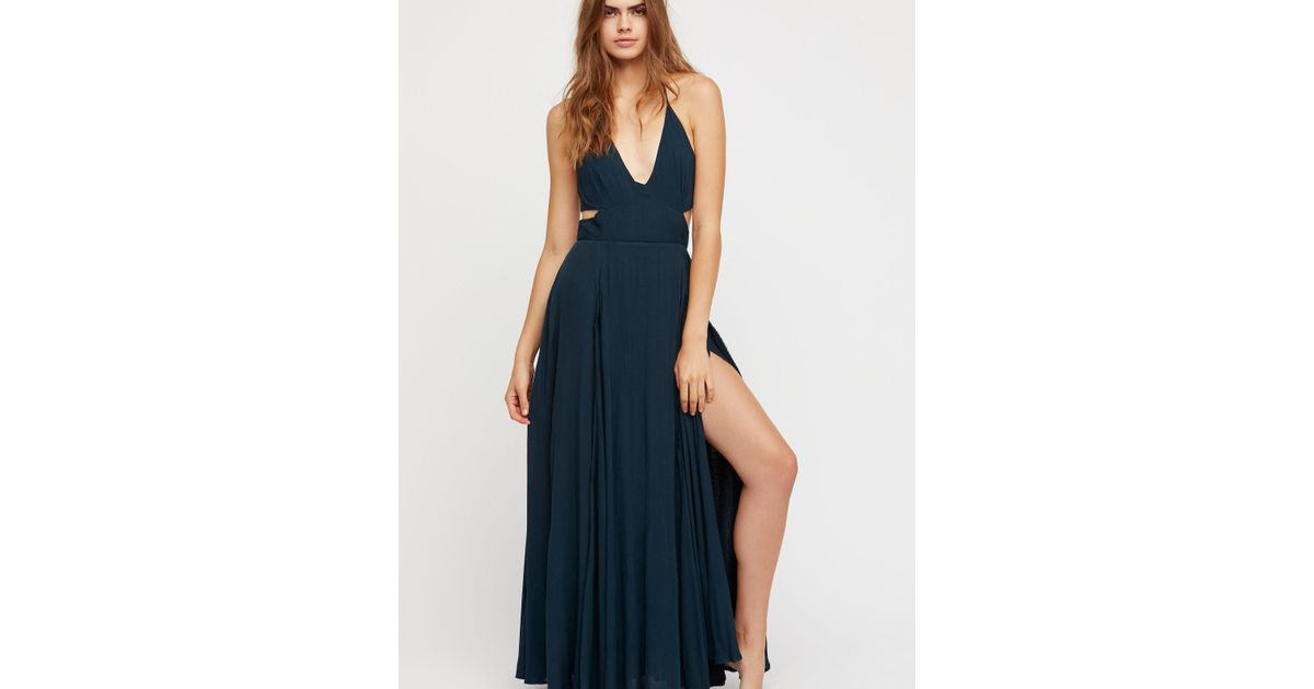 dc792344231 Free People Clothes Dresses Lille Maxi Dress in Blue - Lyst