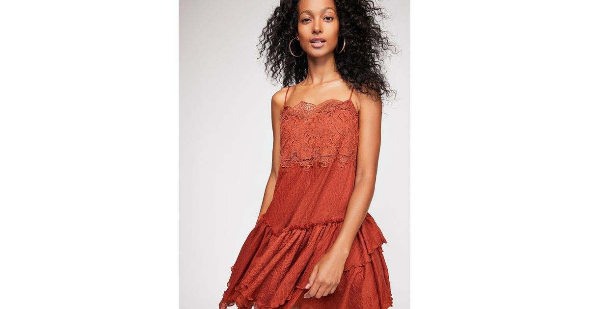 61469d002967 Lyst - Free People In The City Sundress