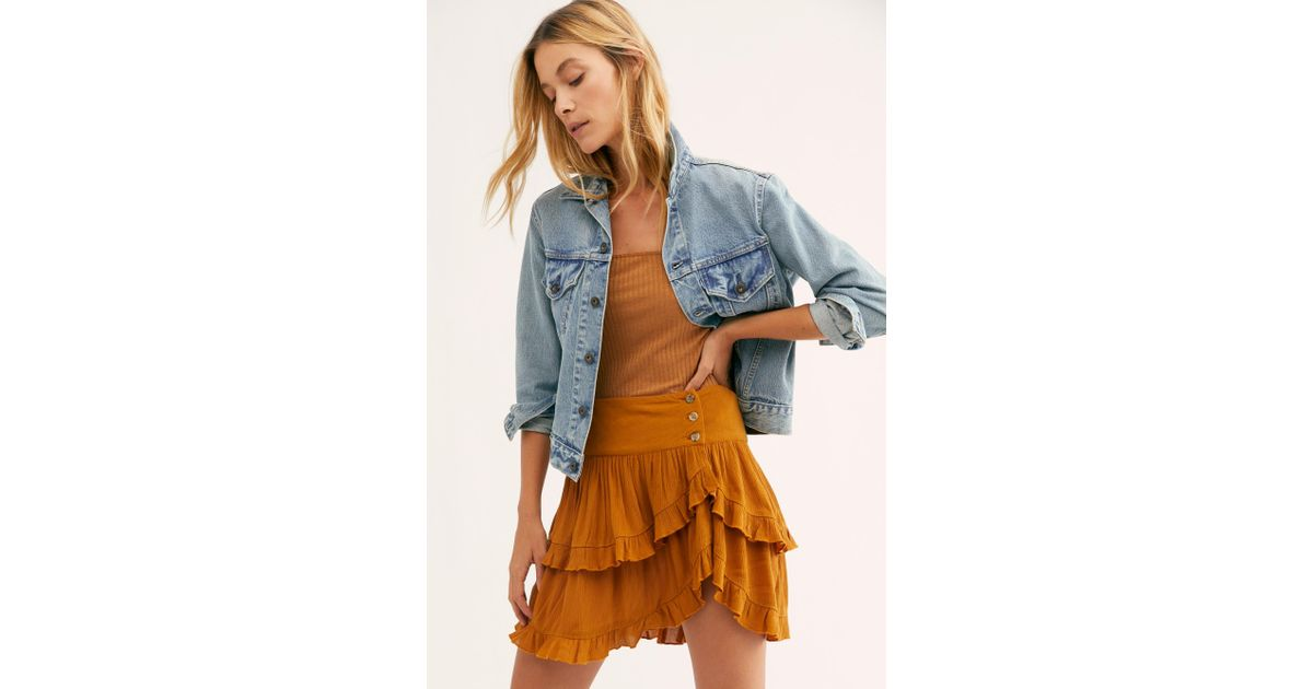 1ee3d0680d55 Lyst - Free People Costello Skirt By Endless Summer