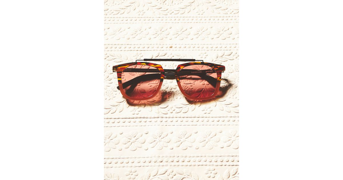 Beautiful Free People Camels Amp Caravans Aviator In Red  Lyst