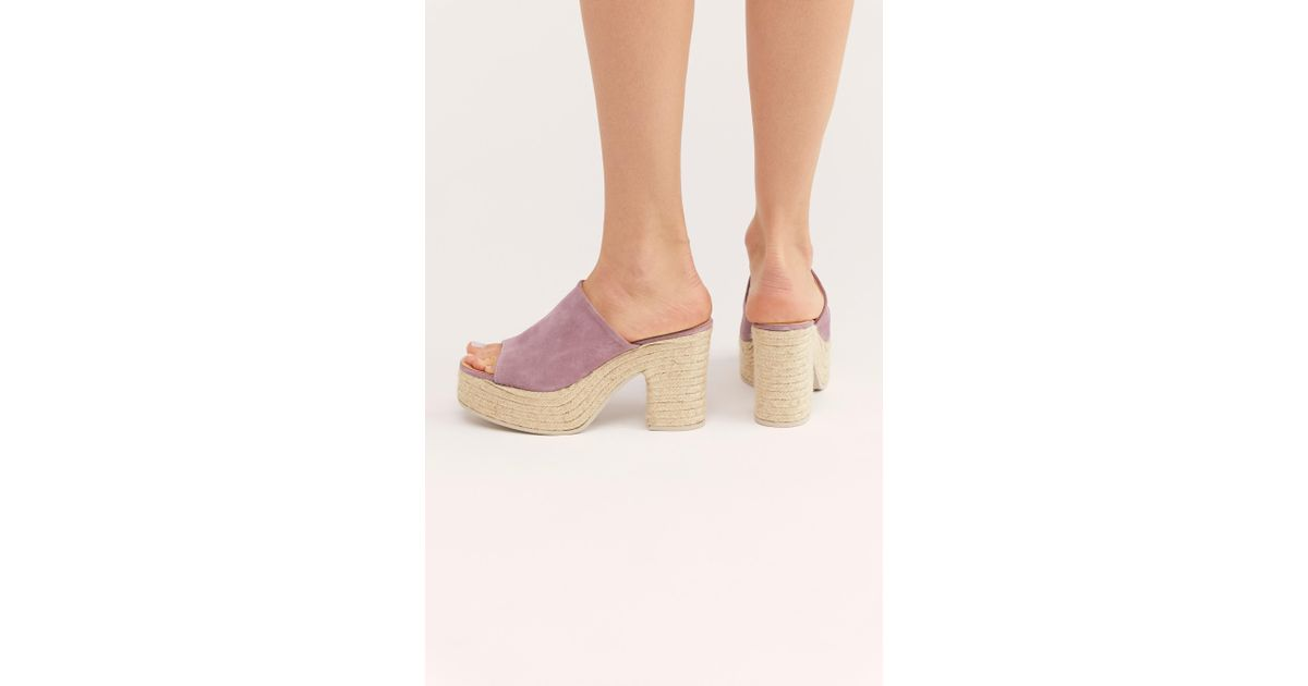 b9e2954315a Free People - Pink Larisa Espadrille Platform By Fp Collection - Lyst