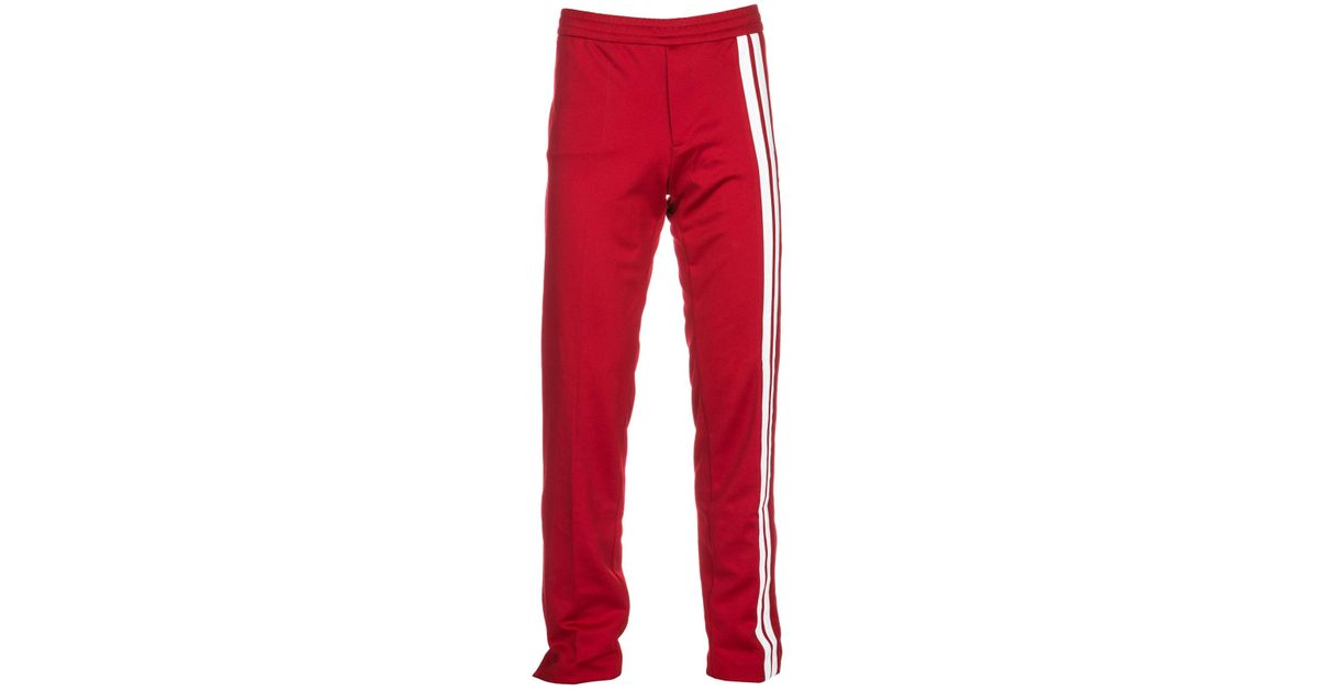 355ddd5eb94619 Valentino Sport Tracksuit Trousers in Red for Men - Lyst
