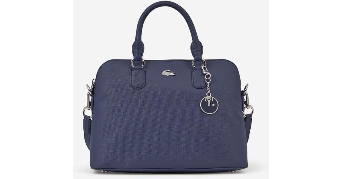 63e8097a76 Sac cabas Daily Classic Lacoste en coloris Bleu - Lyst