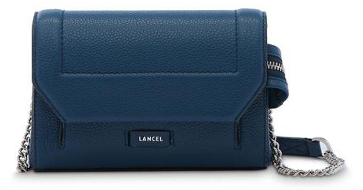 Sac Lancel Blue Lyst Mini Pochette Ninon 45ARjL