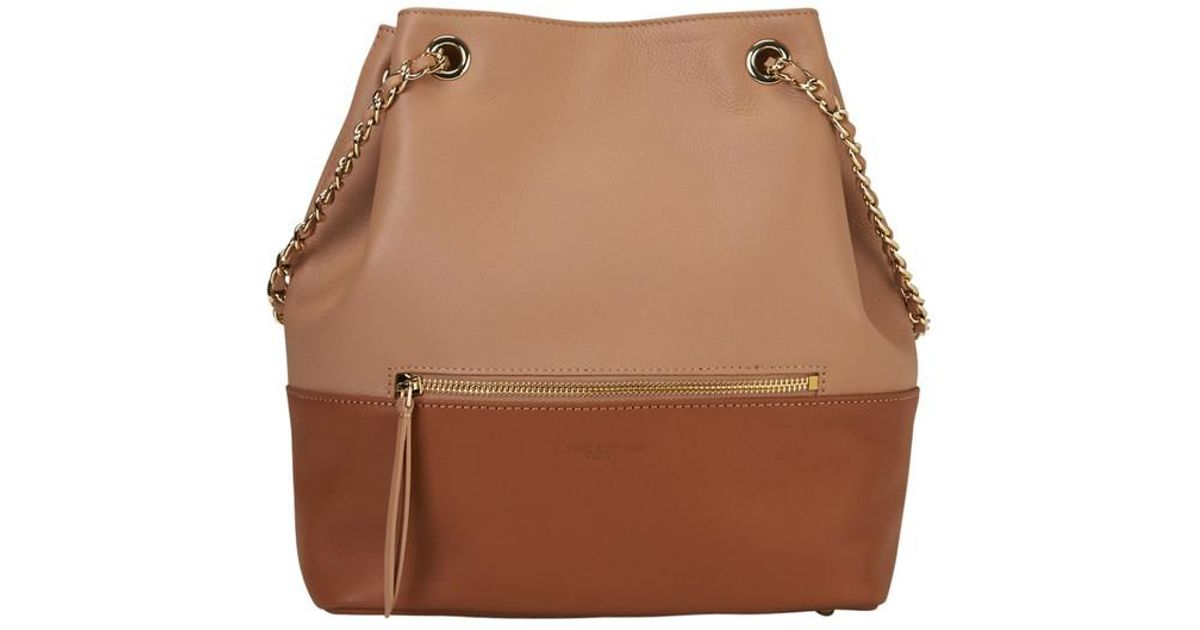 97335d8453 À Estelly Brown Dos Lancaster Sac Mademoiselle Lyst wP8qXER