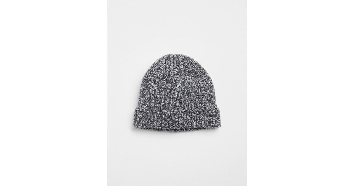 f076daa7dde2a Lyst - Gap Ribbed Beanie in Blue for Men