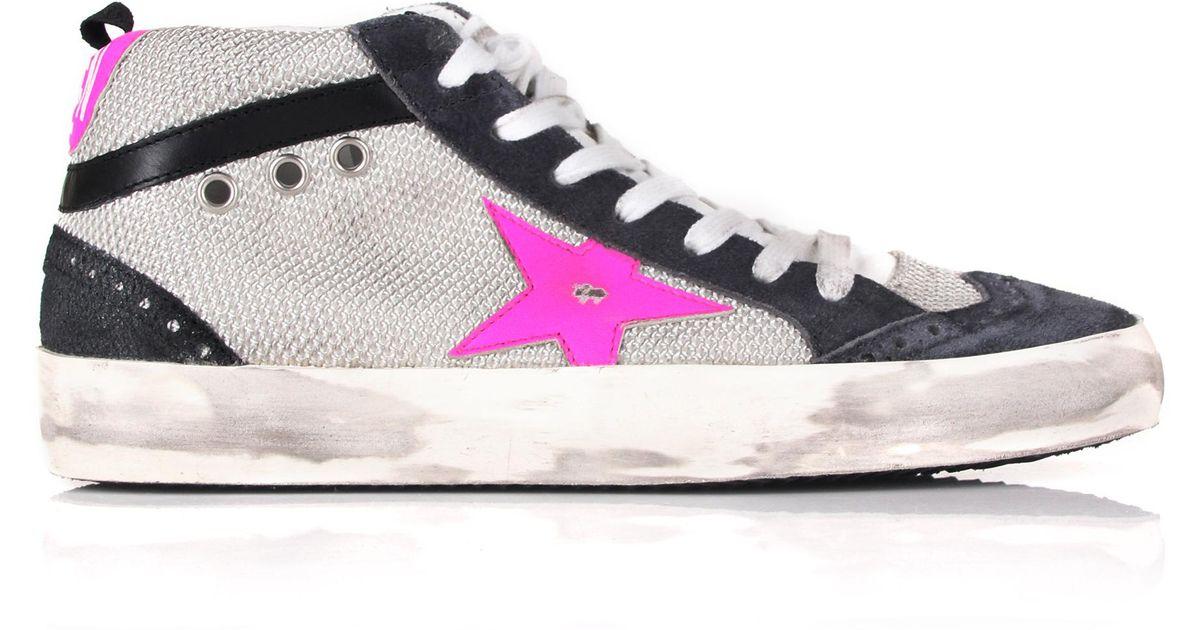 Mid Star sneakers - Pink & Purple Golden Goose 3yfgSS01Ja