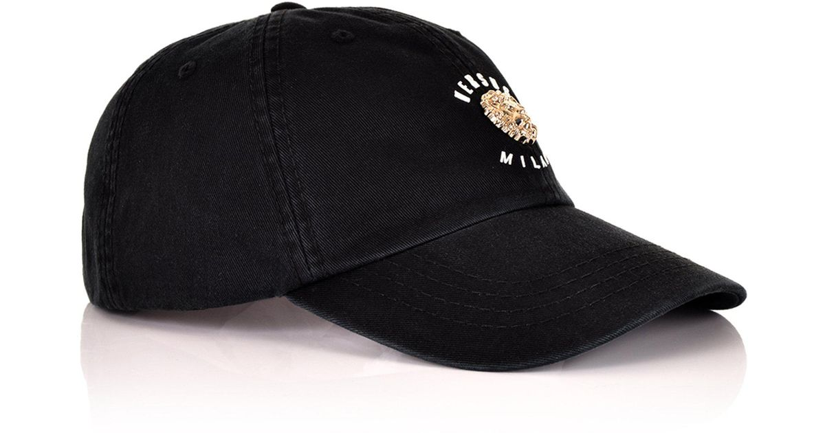 Lyst - Versus Lion Baseball Cap Black in Black for Men 1f2bde16589