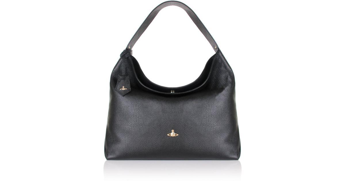 210e537921f3 Lyst - Vivienne Westwood Balmoral 131204 Hobo Bag Black in Black