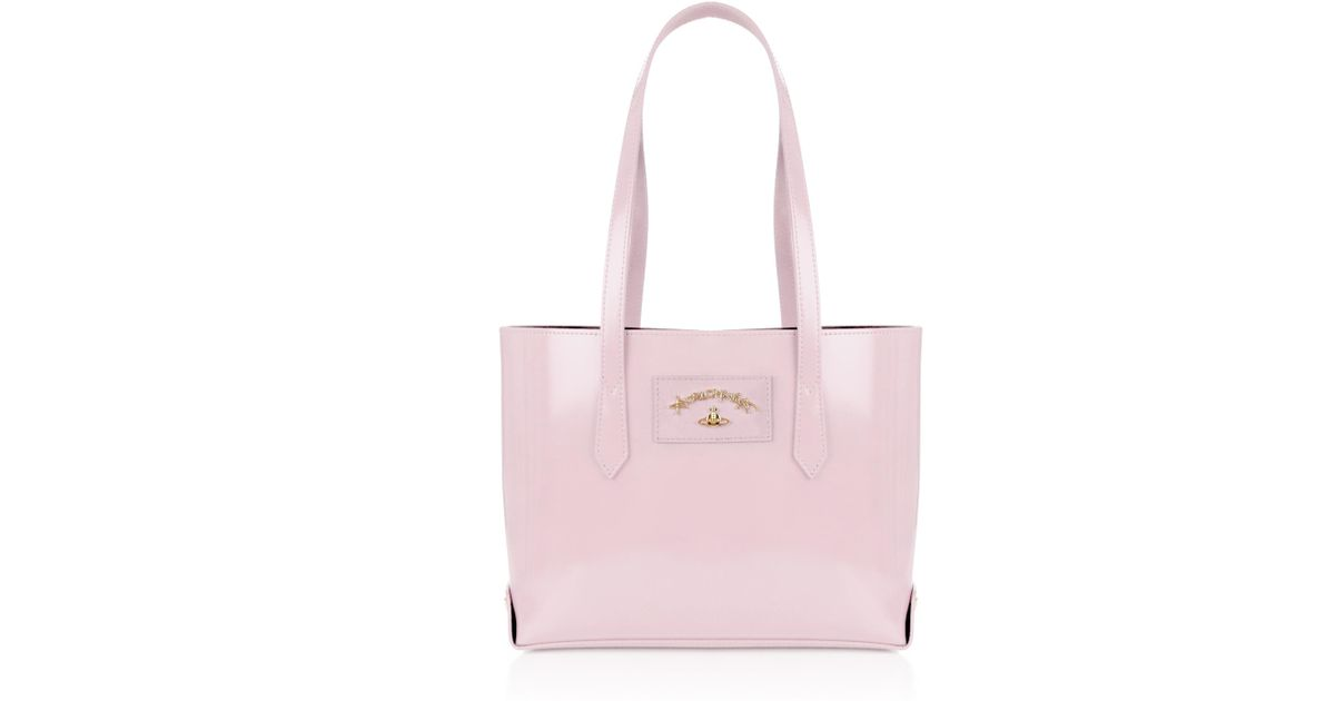 eb840aafd76 Vivienne Westwood Newcastle 7252 Shopping Bag Rose in Pink - Lyst
