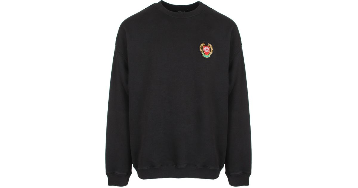 9a0339e0d Lyst - Yeezy Season 5 Calabasas Crew Neck Sweatshirt Ink in Black