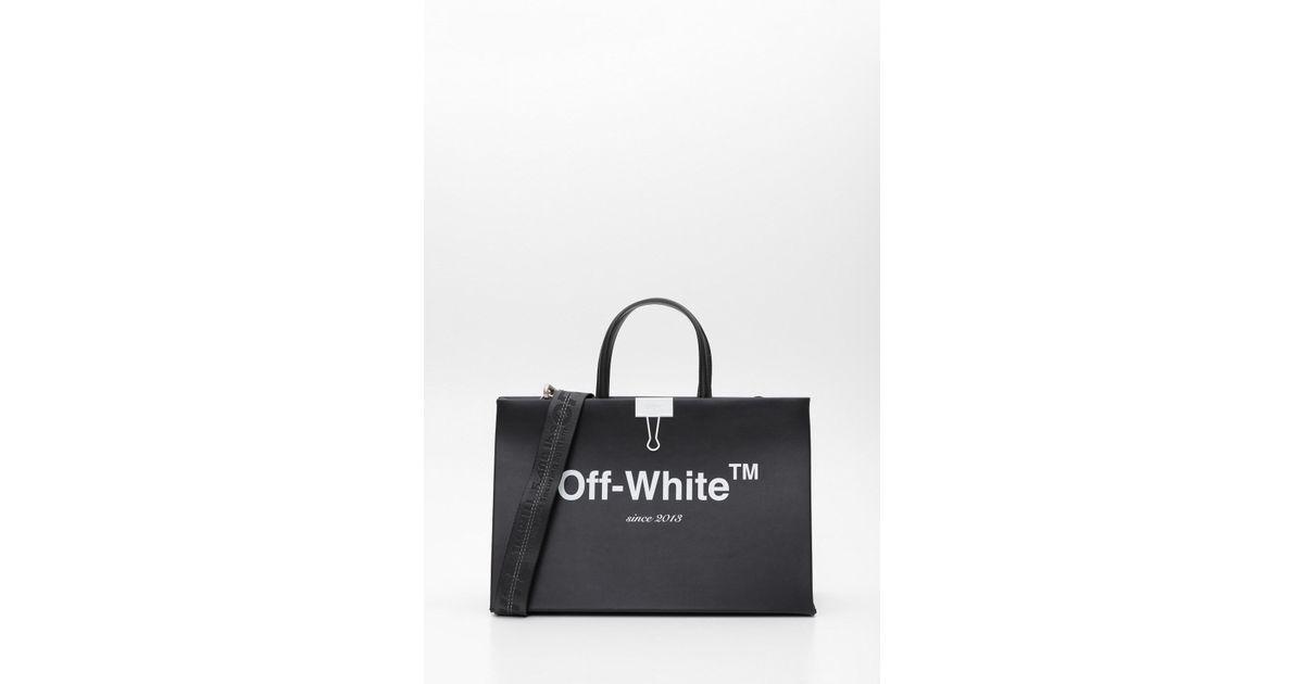 108b19bef Lyst - Off-White c/o Virgil Abloh Box Bag in Black