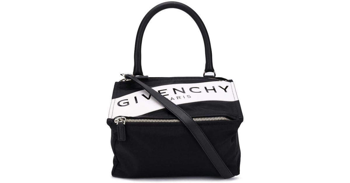 Givenchy Paris Band Small Pandora Bag In Black Lyst