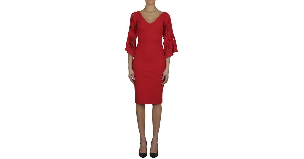 finest selection 7f635 7e017 Chiara Boni - Red CHIARA BONI Abito tubino rosso - Lyst
