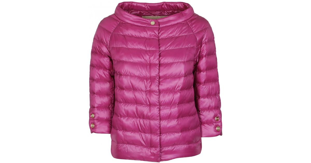 2dc6567ca2 Herno - Pink HERNO piumino light 100 grammi fucsia - Lyst