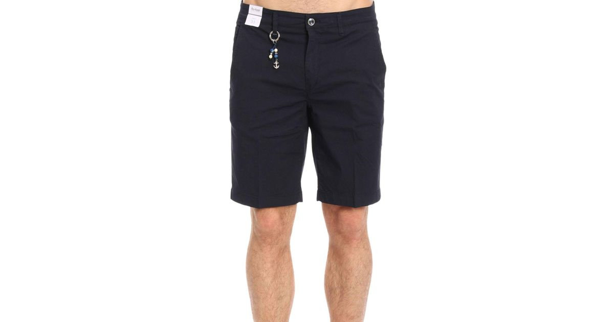 76d959c218d8 Lyst - Re-Hash Bermuda Shorts Men Re-ash in Blue for Men