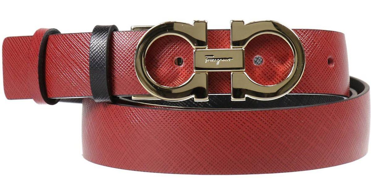 Ferragamo Women's Belt in Red   Lyst