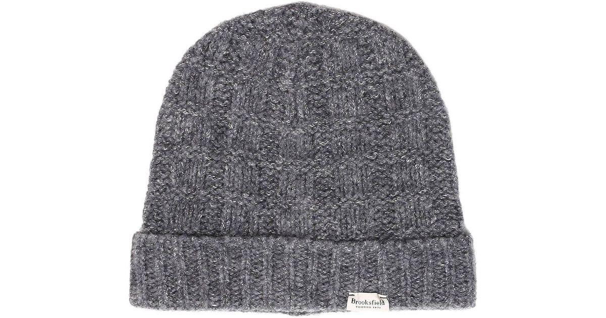 4f3623bb9e Brooksfield Hat Men in Gray for Men - Lyst