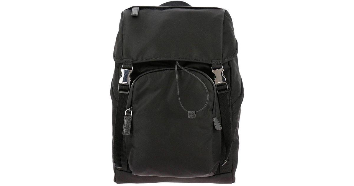 d341d8518ac5 ... shopping lyst prada bags men in black for men 623b8 2cd07