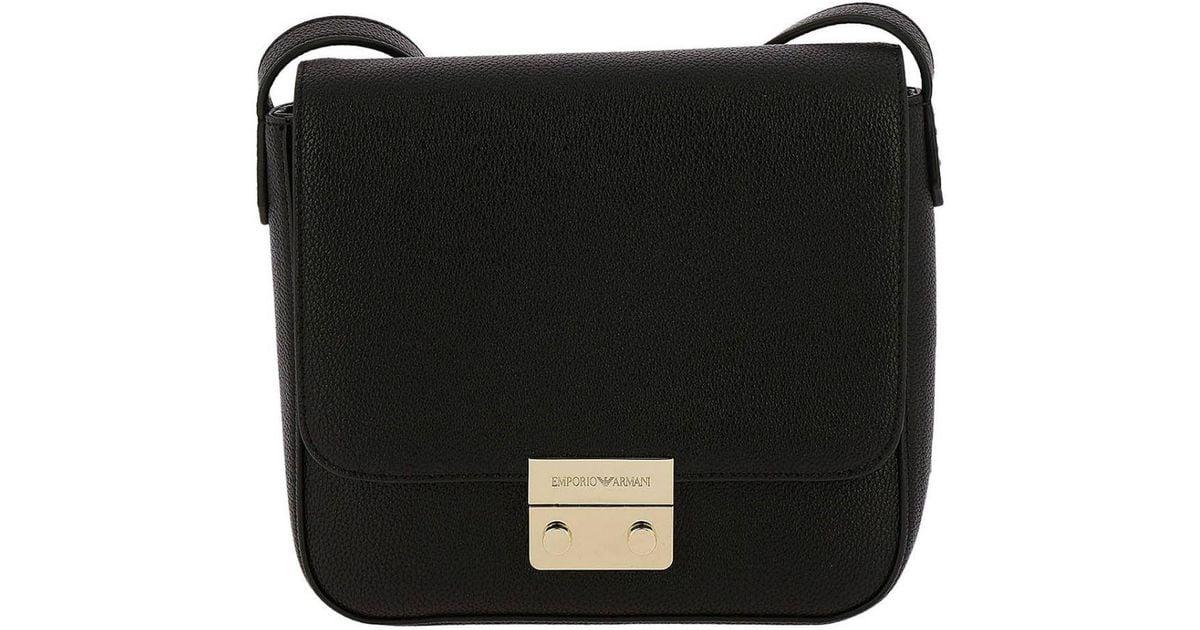 2191b90782a0 Emporio Armani Mini Bag Shoulder Bag Women in Black - Lyst