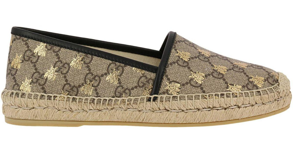 e40f75e152f1 Lyst - Gucci Shoes Women in Natural