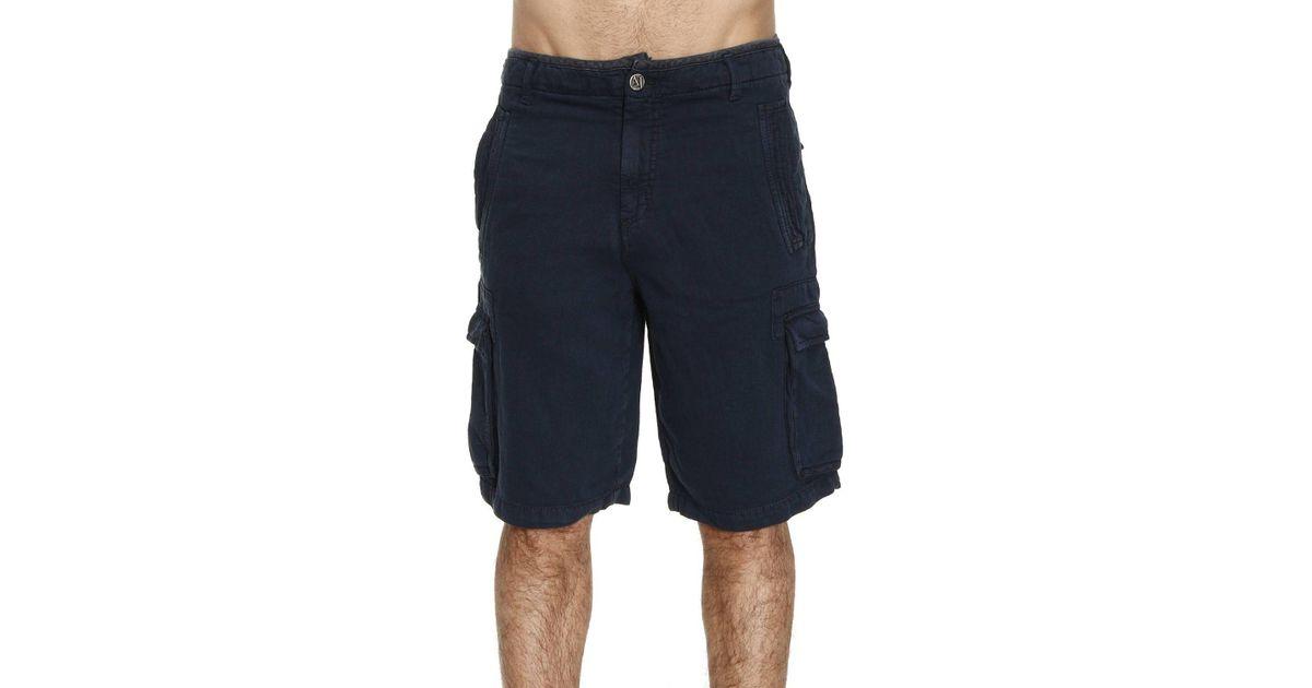 En Bleu Jeans Coloris Armani Lyst Pantalon Pour Homme xz0wXPT