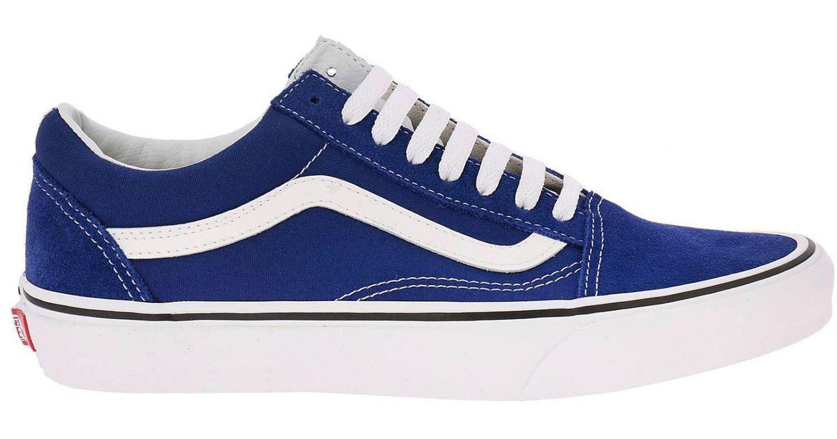 7c4636f497289d Vans Sneakers Shoes Men in Blue for Men - Lyst