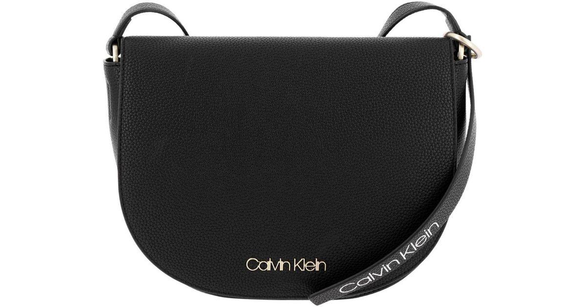 1402dc216a Lyst - Calvin Klein Crossbody Bags Shoulder Bag Women in Black