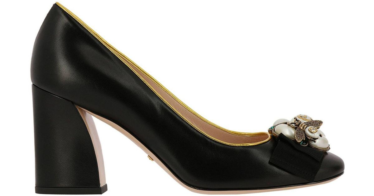 682fb30cf58c Gucci Pumps Shoes Women in Black - Lyst