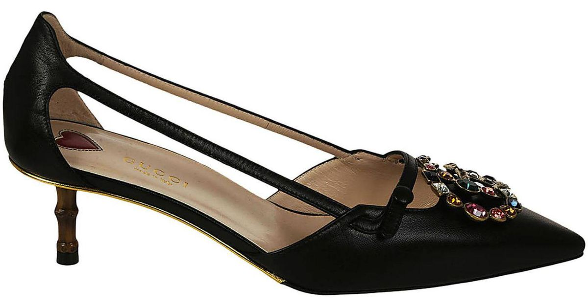 a9826694059a Lyst - Gucci Pumps Shoes Women in Black