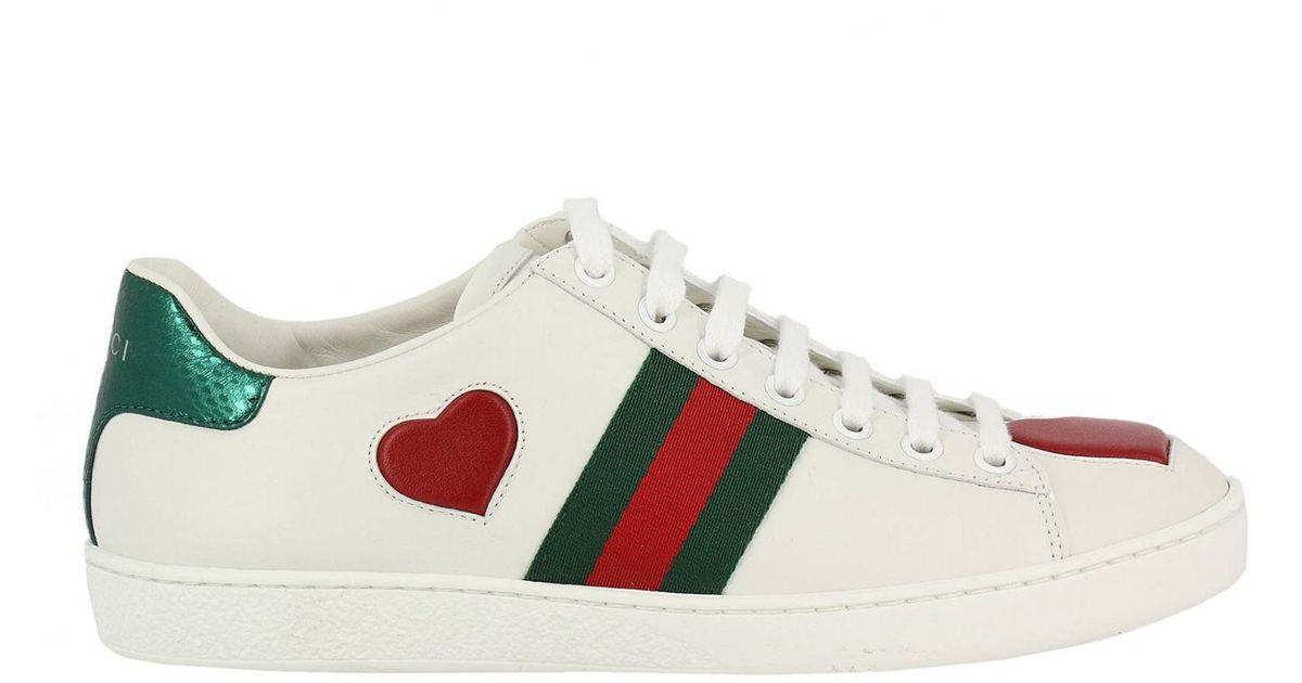 f7ae679e16d Lyst - Gucci Shoes Women in White